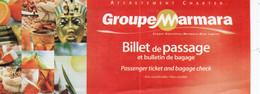 GROUPE MARMARA  CARTES D'EMBARQUEMENT - Tarjetas De Embarque