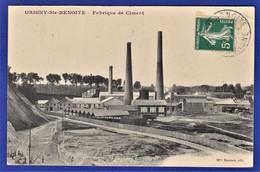 CPA 02 ORIGNY SAINTE BENOITE - Fabrique De Ciment - Altri Comuni