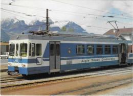 Automotrice BDeh 4/4 Du C.F. Aigle-Sépey-Diablerets (Suisse) - - Equipment