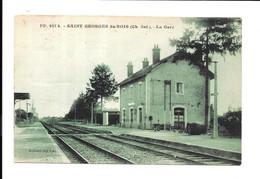 BX91 - SAINT GEORGES DU BOIS - LA GARE - Andere Gemeenten