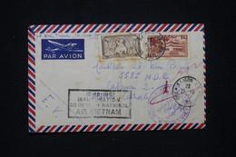 """VIETNAM - Cachet """" Inauguration Du Réseau National Air Vietnam """" Sur Enveloppe De Saigon En 1951, Voir Cachet  - L 95121 - Vietnam"""