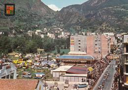 ANDORRA LA VELLA: Tour De France 1964 - Arrivée Des Coureurs - Caravane Publicitaire - Andorra