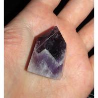 Améthyste Pierre Naturelle Chevron Obélisque 3,6 X 2,5 Cm Calme Apaise Soulage... - Minerali