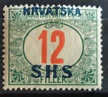Jugoslawien 1918, PORTO Mi 30 MH Ungebraucht - Ongebruikt