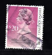 Hong Kong 1987 Mi Nr 520, Koningin  Elisabeth II - Gebraucht