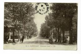 Marseille - Boulevard Chave (animation, Rails Des Tramways) Circulé 1918 En FM - Cinq Avenues, Chave, Blancarde, Chutes Lavies