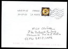 FRANCE ENVELOPPE COVER ILE DE HOUAT 29 07 2020 ISLAND HOUAT - Lettres & Documents