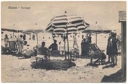 2d.33.  ALASSIO - Spiaggia - Savona - 1936 - Autres Villes