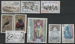 ANDORRE FRANCAIS 1981 ANNEE COMPLETE COTE 13.6 € N° 291 à 299 NEUFS ** (MNH). TB - Full Years