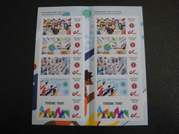 België Belgium 2021 - Together Stronger - Covid-19 / Corona Stamps - Nuevos