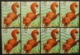 FRANCE N°3381 X 8 Oblitéré - Collezioni (senza Album)