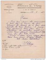 81 CASTRES COURRIER CONFECTIONS  Vêtements De Travail Maison P. THOUY 1947  - V27 - Unclassified