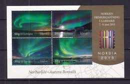 Iceland 2013 Nordia 2013 - Northern Lights MNH - Ungebraucht