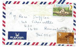 281 - 59 - Enveloppe Envoyée De L'Ile Maurice En Suisse - Mauritius (1968-...)