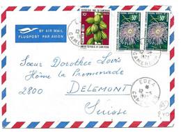 281 - 65 - Enveloppe Envoyée De Edea En Suisse 1973 - Cameroon (1960-...)