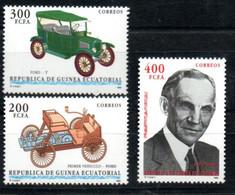 Äquatorial Guinea 1764 - 1766 Mnh ** Auto Car Voiture Ford Guinée équatoriale Equatorial - Guinée Equatoriale