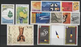ANDORRE FRANCAIS 1995 ANNEE COMPLETE COTE 29.4 € N° 454 à 466 NEUFS ** (MNH). Vendue à 10% De La Cote. TB - Años Completos