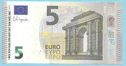 5 EURO E001H3 UNC LAGARDE - 5 Euro