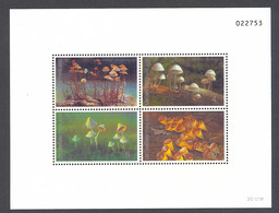 Thailand, 1993, Mushrooms, MNH, Michel Block 50 - Tailandia