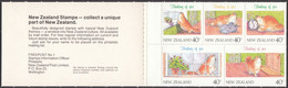 NEW ZEALAND - 1991 - Carnet Nuovo MNH Yvert C1115 Contenente 5 Valori (Yvert 1115/1119). - Ungebraucht