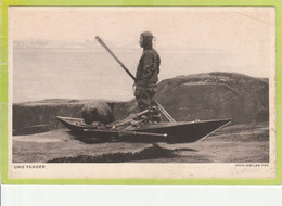 GREENLAND 001, *  YOUNG FISHERMAN * UNUSED - Greenland