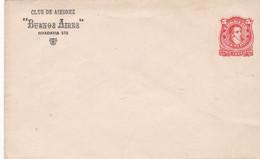 ARGENTINA. CLUB DE AJEDREZ BUENOS AIRES. CHESS ECHECS. ENTIER, ENVELOPPE CIRCA 1900's, NON CIRCULEE.- LILHU - Chess