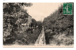 CPA Ed Meunier 16. Puiseaux Les Fossés Du Pont De Chicago Recto 1913 - Puiseaux