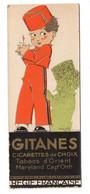 Marque Pages, Cigarettes Gitanes Sultanes, Tabacs D'orient, Maryland Régie Française, - Objets Publicitaires