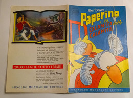ALBI D' ORO N° 7 - 19 FEBBRAIO 1956 - PAPERINO E LA CALAMITA DELLE CALAMITà - Disney