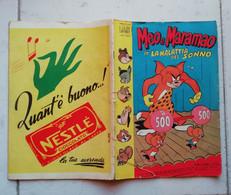 ALBI D' ORO N° 359 - 22\11\1952 - MEO E MARAMAO IN LA MALATTIA DEL SONNO - Disney