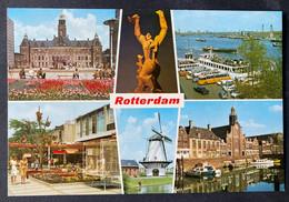 Rotterdam Multiview Of Town/ Autobusse - Rotterdam