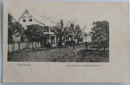 C. P. A. : Liberia : MONROVIA : Late President Johnson's Residence - Liberia