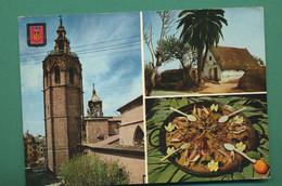 Espagne Valencia Paella, église ( Multivues, Coquillages, Moules, Langoustines, Oranges ) - Valencia