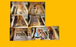 Tant Qu'il Y Aura Des Femmes, RARE Affiche Géante Originale, 8 Panneaux, Env 3 M X 4 M ; F 06 - Posters