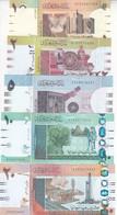 SUDAN 1 2 5 10 20 POUNDS 2006 2017 P-71 72 73 74 UNC SET - Sudan
