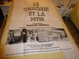 Le Chagrin Et La Pitié, Affiche Originale Du Film, 1969 120 X 160 ; F 06 - Posters