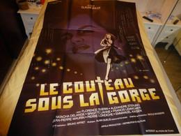 Le Couteau Sous La Gorge, 1986, Affiche Originale Du Film, 120 X 160 ; F 06 - Posters