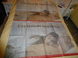Une Histoire Immortelle, 1967, Jeanne Moreau, Affiche Originale Du Film, 120 X 160 ; F 06 - Posters
