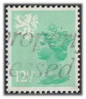 GB 1982 Yv. N°1027 - 12p1/2 Vert Clair - Oblitéré - Scotland