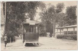 CPA Tramway Le Touquet Paris Plage (62) Au Carrefour De L'Hermitage,  Direction La Plage   Ed LL 128  TBE - Tramways