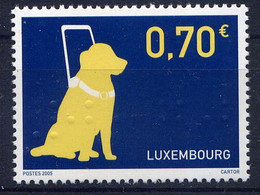 LUXEMBOURG - 1648** - CHIEN GUIDE - Nuevos