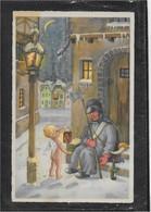 AK 0690  Liselotte Fabig-Distling Künstlerkarte - Weihnachtsszene Mit Engerl Ca. Um 1930 - Angels