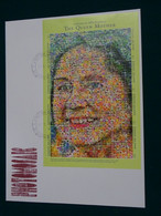 Grenadines Of St. Vincent 2000 Joint Issue The Queen Mother PHOTOMOSIAC Maxi FDC VF - St.Vincent E Grenadine