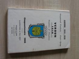 Couture - Gary Verdun 1916 Cinquantenaire PAU 1966 - 1914-18