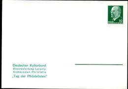 DDR PP9 B2/018b Privat-Postkarte Tag Der Philatelisten Leipzig 1968  NGK 4,00 € - Privatpostkarten - Ungebraucht