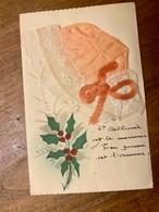 1 Cp Peinte  Sainte-Catherine Chapeau Tissus - Saint-Catherine's Day