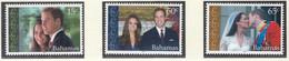 BAHAMAS  1411-1413, Postfrisch **, Hochzeit Von Prinz William Und Catherine Middleton, 2011 - Bahamas (1973-...)