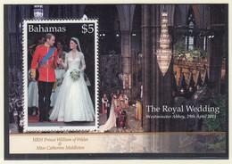 BAHAMAS  Block 117, Postfrisch **, Hochzeit Von Prinz William Und Catherine Middleton, 2011 - Bahamas (1973-...)