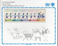 CHRISTMAS ISLAND  110-114, Postfrisch **, UNICEF, Internationales Jahr Des Kindes, 1979 - Christmas Island