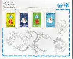 ELFENBEINKÜSTE  587-590, Postfrisch **, UNICEF, Internationales Jahr Des Kindes, 1979 - Ivory Coast (1960-...)